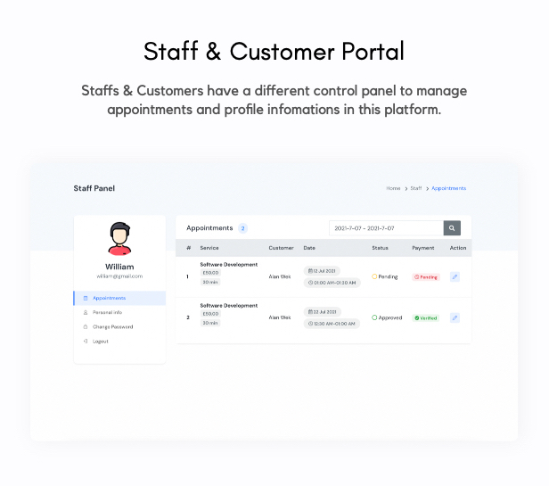 Aoxio - SaaS Multi-Business Service Booking Software - 10